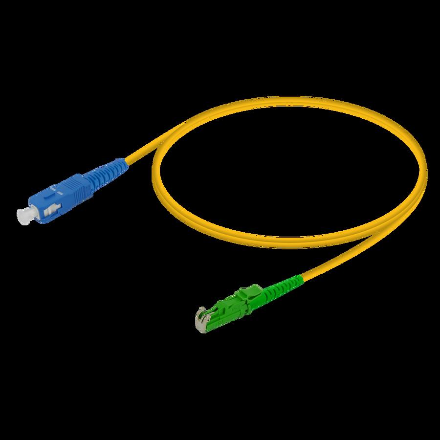 Samm Teknoloji - SC/UPC-LSH/APC | Single Mode G657.A2 Simplex Patch Cord | 2.0mm