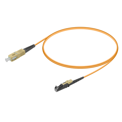 Samm Teknoloji - SC/UPC-LSH/UPC | Multi Mode G651.OM1 Simplex Patch Cord | 2.0mm