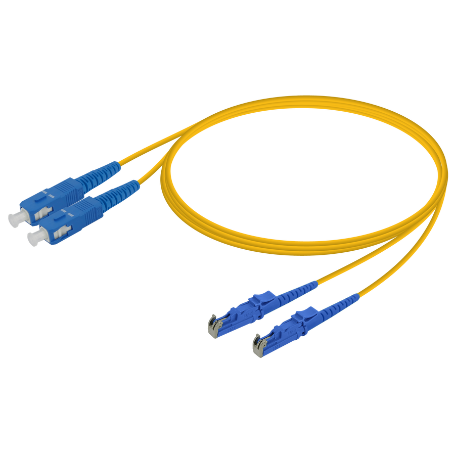 Samm Teknoloji - SC/UPC-LSH/UPC | Single Mode G657.A2 Duplex Patch Cord | 2.0x4.1mm