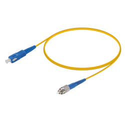 Samm Teknoloji - SC/UPC-FC/UPC | Single Mode G657.A2 Simplex Patch Cord | 2.0mm