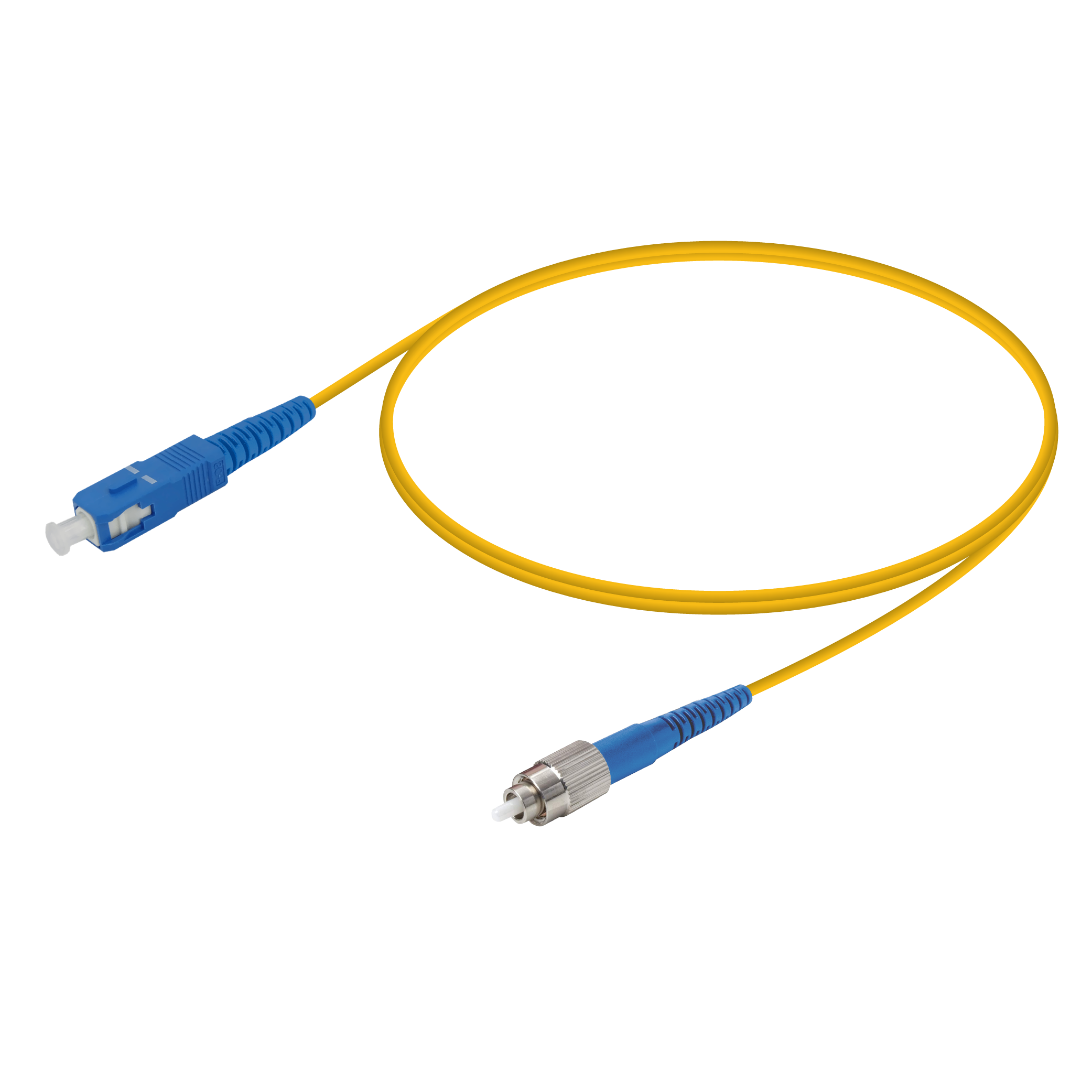 SC/UPC-FC/UPC | Single Mode G657.A2 Simplex Patch Cord | 2.0mm