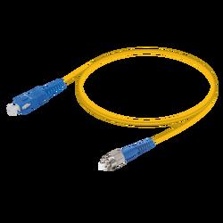 Samm Teknoloji - SC/UPC-FC/UPC | Single Mode G657.A2 Simplex Patch Cord | 2.0mm