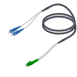 Samm Teknoloji - SC/UPC-LC/APC | Single Mode G657.A2 Çelik Korugeli Breakout | 7.0x2.85mm