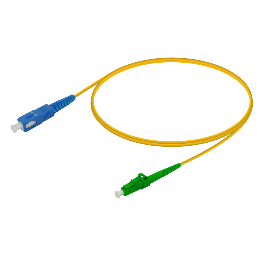 SC/UPC-LC/APC | Single Mode G657.A2 Simplex Patch Cord | 2.0mm