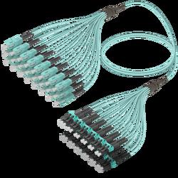Samm Teknoloji - SC/UPC-LC/UPC   24 Fibers Fanout   Multi Mode G651.OM3   3.0/1.8mm