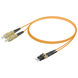 Samm Teknoloji - SC/UPC-LC/UPC | Multi Mode G651.OM1 Duplex Patch Cord | 2.0x4.1mm