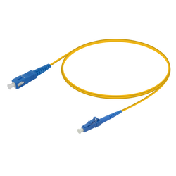 Samm Teknoloji - SC/UPC-LC/UPC | Single Mode G657.A2 Simplex Patch Cord | 2.0mm
