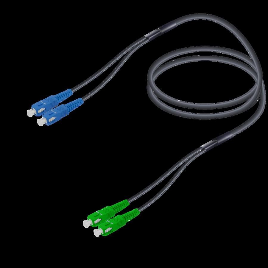 Samm Teknoloji - SC/UPC-SC/APC   Single Mode G657.A2 Universal Breakout   4.8x2.0mm