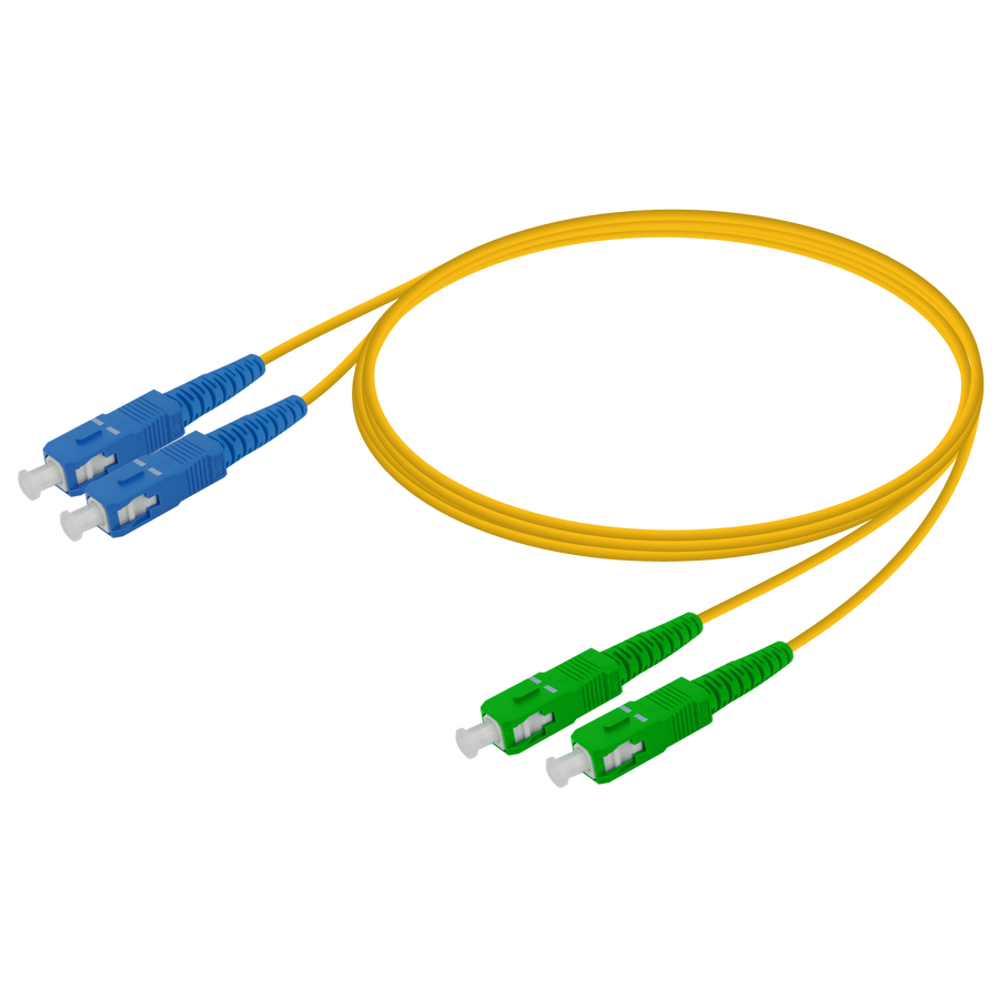 Samm Teknoloji - SC/UPC-SC/APC | Single Mode G657.A2 Duplex Patch Cord | 2.0x4.1mm