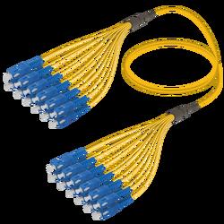 Samm Teknoloji - SC/UPC-SC/UPC | 12 Fiber Fanout | Single Mode G657.A2 | 3.0/1.8mm