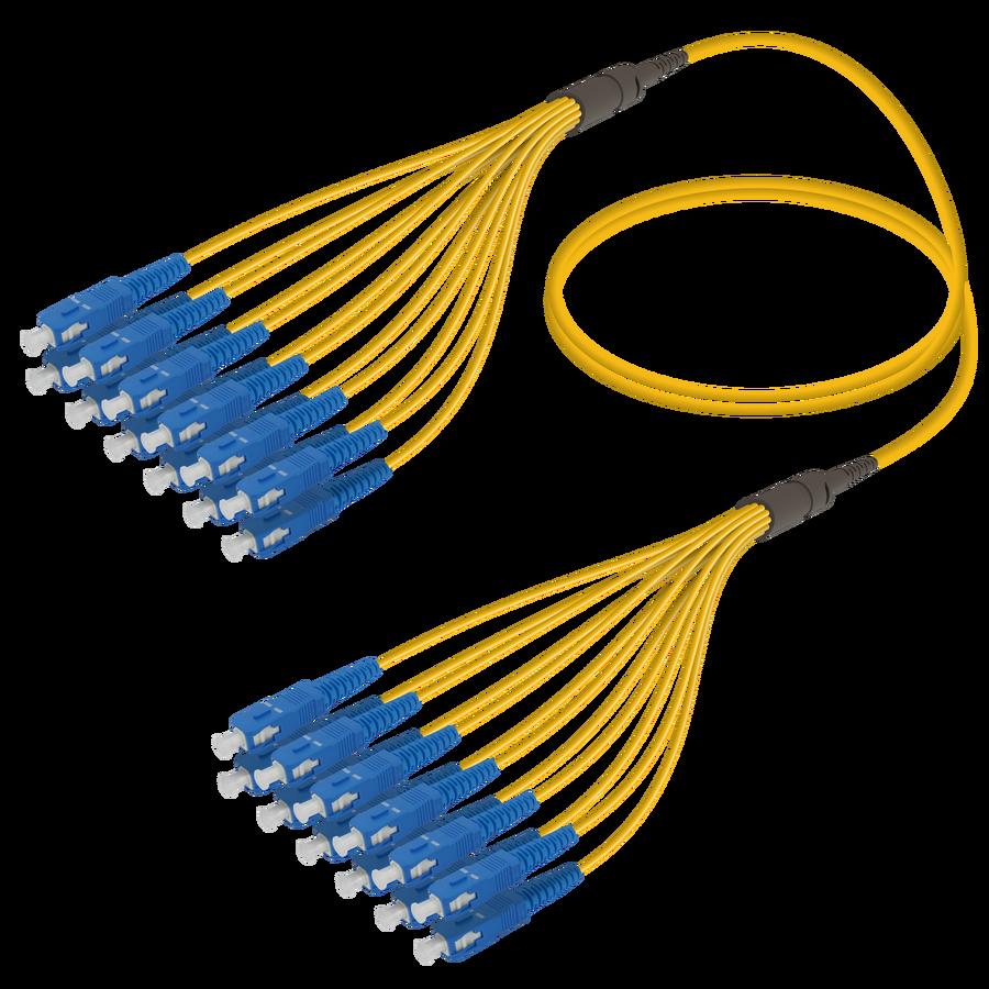 SC/UPC-SC/UPC | 12 Fibers Fanout | Single Mode G657.A2 | 3.0/1.8mm