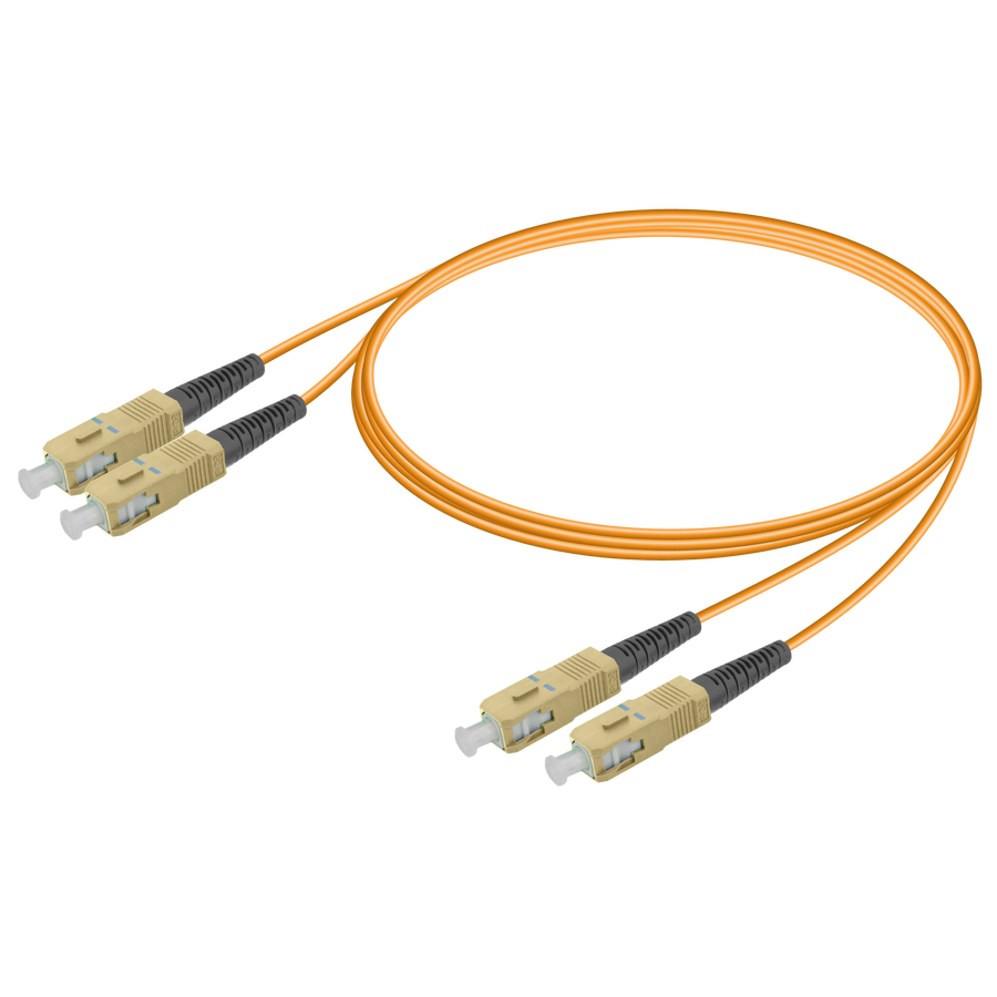 Samm Teknoloji - SC/UPC-SC/UPC | Multi Mode G651.OM1 Duplex Patch Cord | 2.0x4.1mm
