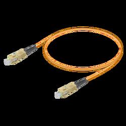 Samm Teknoloji - SC/UPC-SC/UPC | Multi Mode G651.OM1 Simplex Patch Cord | 2.0mm