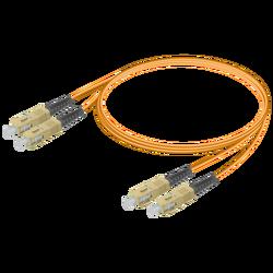 Samm Teknoloji - SC/UPC-SC/UPC | Multi Mode G651.OM1 Duplex Patch Cord | 2.0x4.1mm