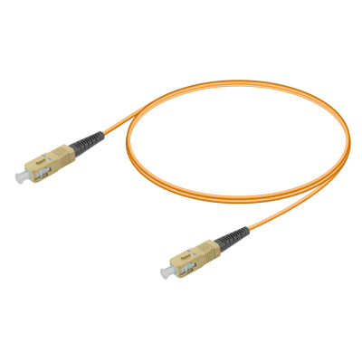 Samm Teknoloji - SC/UPC-SC/UPC | Multi Mode G651.OM1 Simplex Patch Cord | 2.0mm
