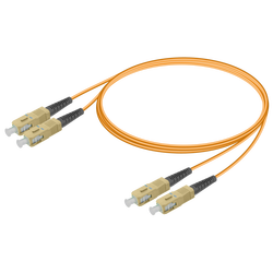 Samm Teknoloji - SC/UPC-SC/UPC | Multi Mode G651.OM2 Duplex Patch Cord | 2.0x4.1mm