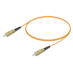Samm Teknoloji - SC/UPC-SC/UPC | Multi Mode G651.OM2 Simplex Patch Cord | 2.0mm