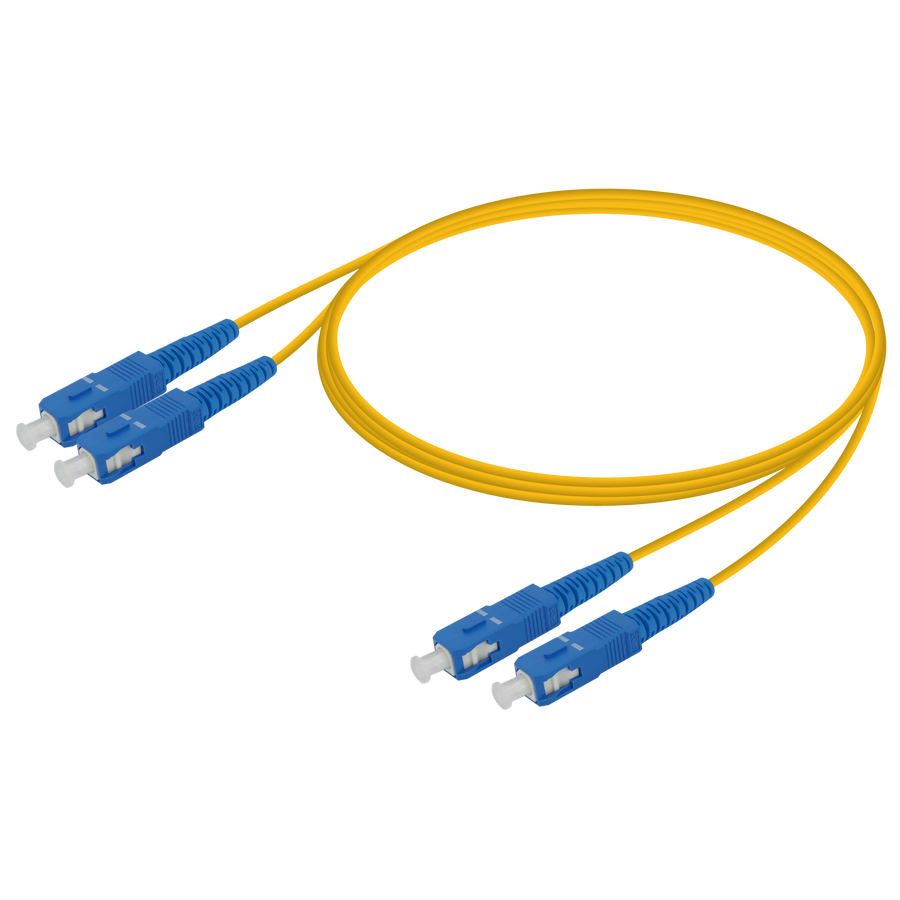SC/UPC-SC/UPC | Single Mode G657.A2 Duplex Patch Cord | 2.0x4.1mm