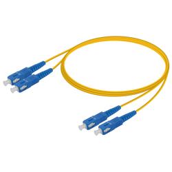 Samm Teknoloji - SC/UPC-SC/UPC | Single Mode G657.A2 Duplex Patch Cord | 2.0x4.1mm