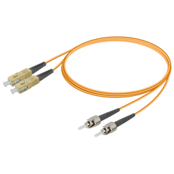 Samm Teknoloji - SC/UPC-ST/UPC | Multi Mode G651.OM1 Duplex Patch Cord | 2.0x4.1mm_Kopya(1)
