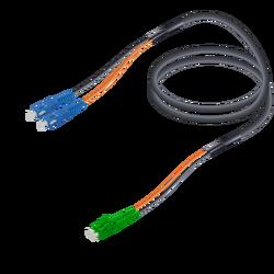 Samm Teknoloji - SC/UPC-LC/APC   Single Mode G657.A2 Universal Breakout   7.0x2.0mm