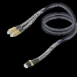Samm Teknoloji - SC/UPC-LC/UPC | Multi Mode G651.OM2 Corrugated Steel Breakout | 7.0x2.85mm