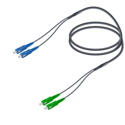 Samm Teknoloji - SC/UPC-SC/APC | Single Mode G657.A2 Universal Breakout | 4.8x2.0mm