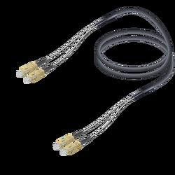 Samm Teknoloji - SC/UPC-SC/UPC | Multi Mode G651.OM2 Corrugated Steel Breakout | 7.0x2.85mm