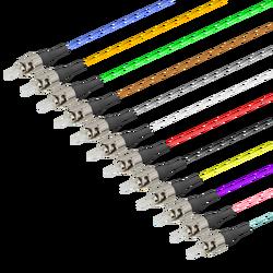 Samm Teknoloji - ST/UPC 12 Fiber Pigtail | Multi Mode G651.OM4 | 0.9mm (1)