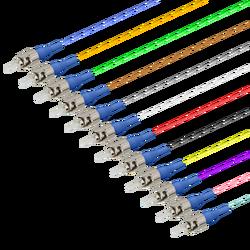 ST/UPC 12 Fiber Pigtail | Single Mode G657.A2 | 0.9mm - Thumbnail
