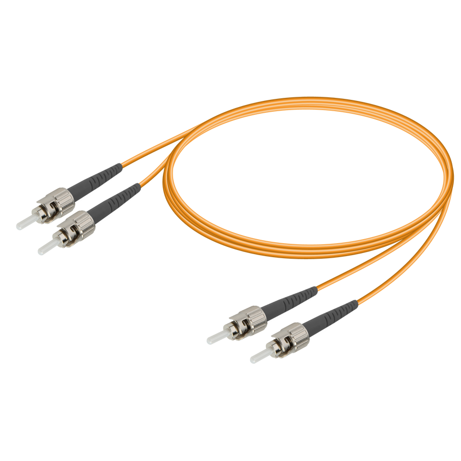 Samm Teknoloji - ST/UPC-ST/UPC | Multi Mode G651.OM1 Duplex Patch Cord | 2.0x4.1mm