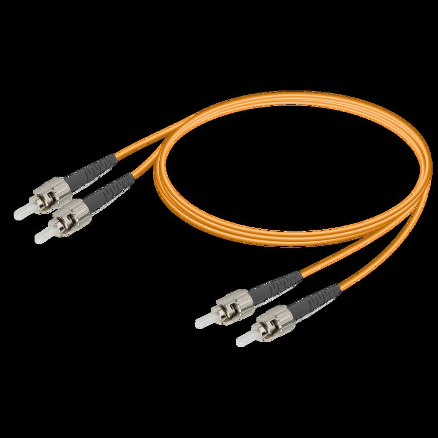 ST/UPC-ST/UPC | Multi Mode G651.OM2 Duplex Patch Cord | 2.0x4.1mm