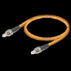 Samm Teknoloji - ST/UPC-ST/UPC | Multi Mode G651.OM2 Simplex Patch Cord | 2.0mm