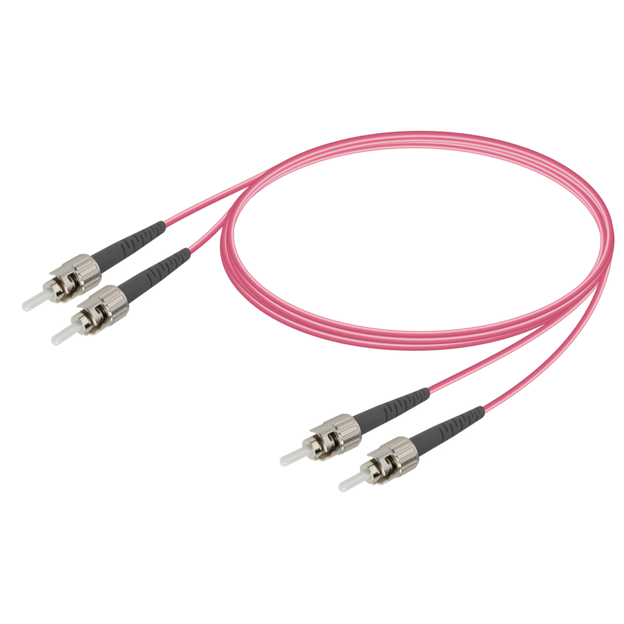 Samm Teknoloji - ST/UPC-ST/UPC | Multi Mode G651.OM4 Duplex Patch Cord | 2.0x4.1mm