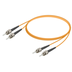 Samm Teknoloji - ST/UPC-ST/UPC | Multi Mode G651.OM2 Duplex Patch Cord | 2.0x4.1mm