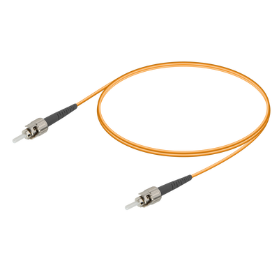 Samm Teknoloji - ST/UPC-ST/UPC | Multi Mode G651.OM2 Simplex Patch Cord | 2.0mm