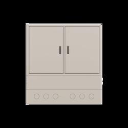 Samm Teknoloji - Street Type Fiber Optic Twin Cabinet | FDF-ODC-2-X