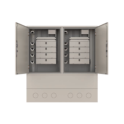 Samm Teknoloji - Street Type Fiber Optic Twin Cabinet | FDF-ODC-2-X (1)
