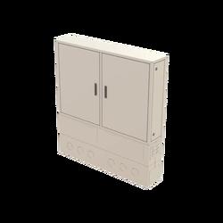 Street Type Fiber Optic Twin Cabinet | FDF-ODC-2-X - Thumbnail