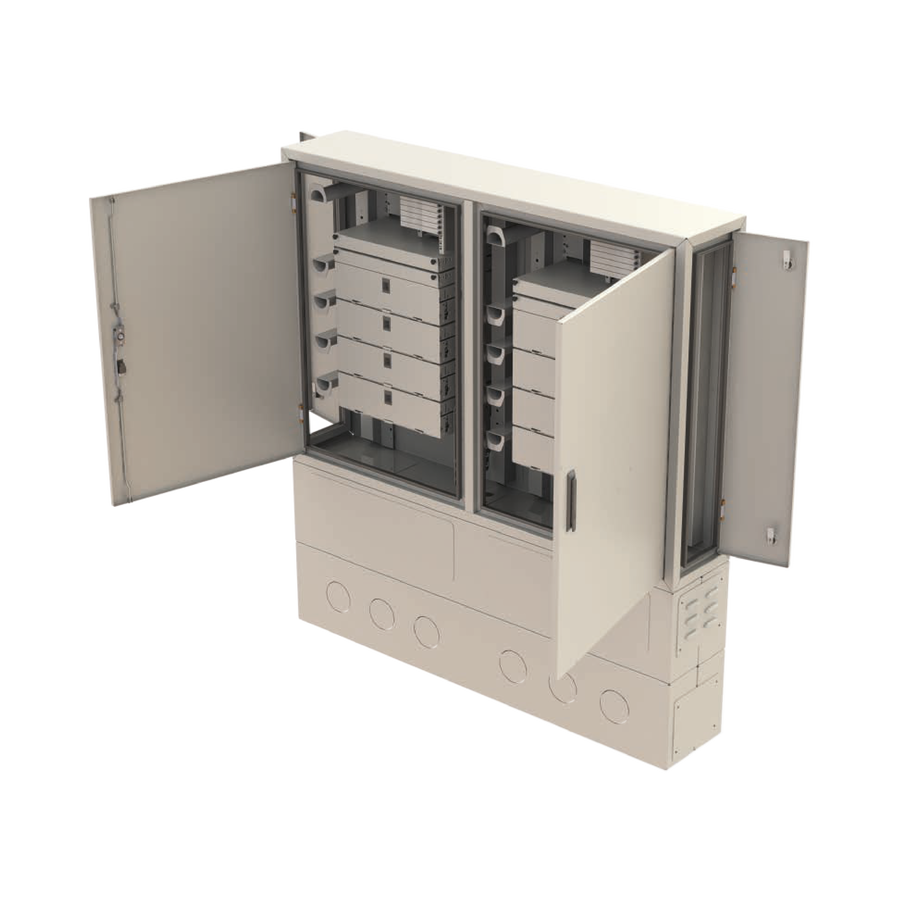 Street Type Fiber Optic Twin Cabinet | FDF-ODC-2-X
